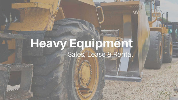 Heavy Equipment Sales, Lease & Rental