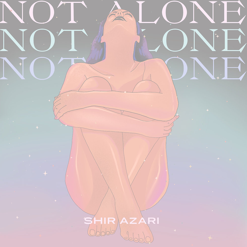 Not Alone Single Cover Art