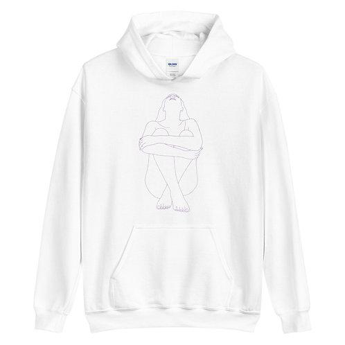 Unisex Hoodie (White)