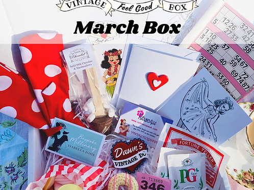 MARCH One-off Vintage Feel Good Box