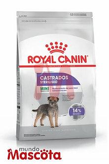 royal canin mini raza pequeña castrado sterilised mundo mascota moreno
