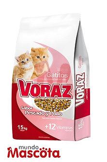 Voraz kitten gatito Mundo Mascota Moreno
