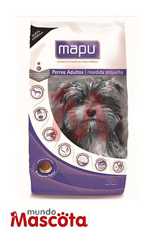 Mapu Perro Adulto Raza Pequeñas x 9 Kg
