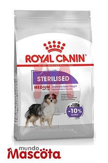 royal canin medium mediano sterilised perro castrado mundo mascota moreno
