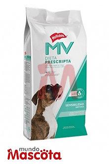 MV Holliday piel sensible y digestivo Dog Mundo Mascota Moreno