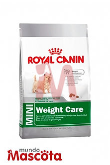 Royal Canin perro mini weight care Mundo Mascota Moreno