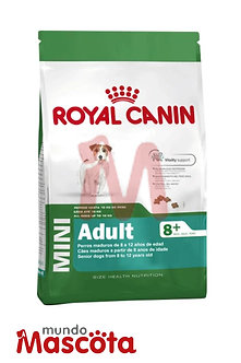 Royal Canin perro adulto mini 8+ senior Mundo Mascota Moreno