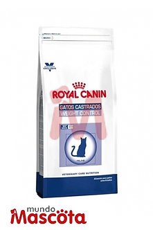 Royal Canin  cat gato Castrados Weight Control Mundo Mascota Moreno