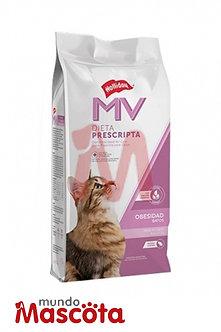 MV Holliday obesity light gato adulto cat Mundo Mascota Moreno