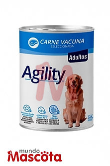 Agility Lata Perro Adulto x 340 gr