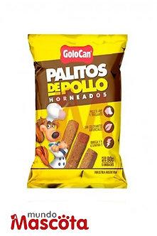 Golocan palitos carne pollo perro adulto Mundo Mascota Moreno