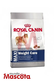 Royal Canin maxi weight care Mundo Mascota Moreno