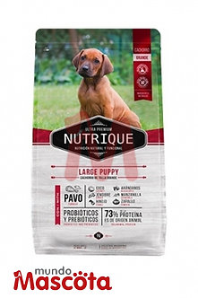 Nutrique Puppy Large x 15 Kg