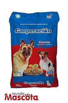 Cooperacion perro adulto Mundo Mascota Moreno