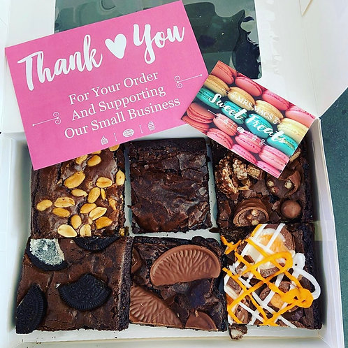*Postal*  Signature Brownie Box 6 pieces