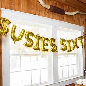Sue's 60th