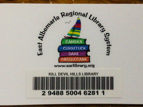 Library card...