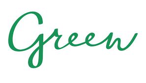 Green ice cream
