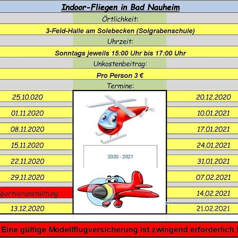 Hallenfliegen Bad Nauheim
