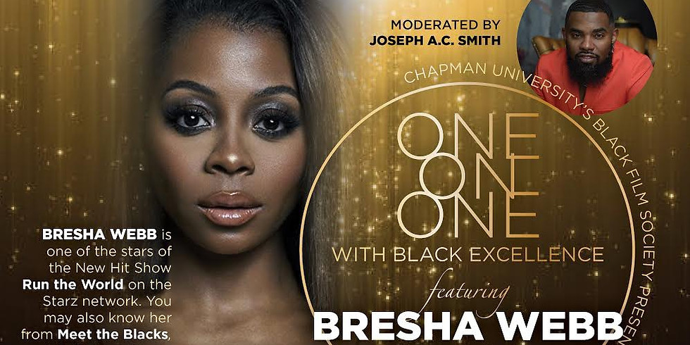 One on One With Bresha Webb