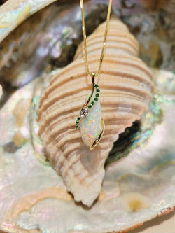 Denny Wong custom necklace.