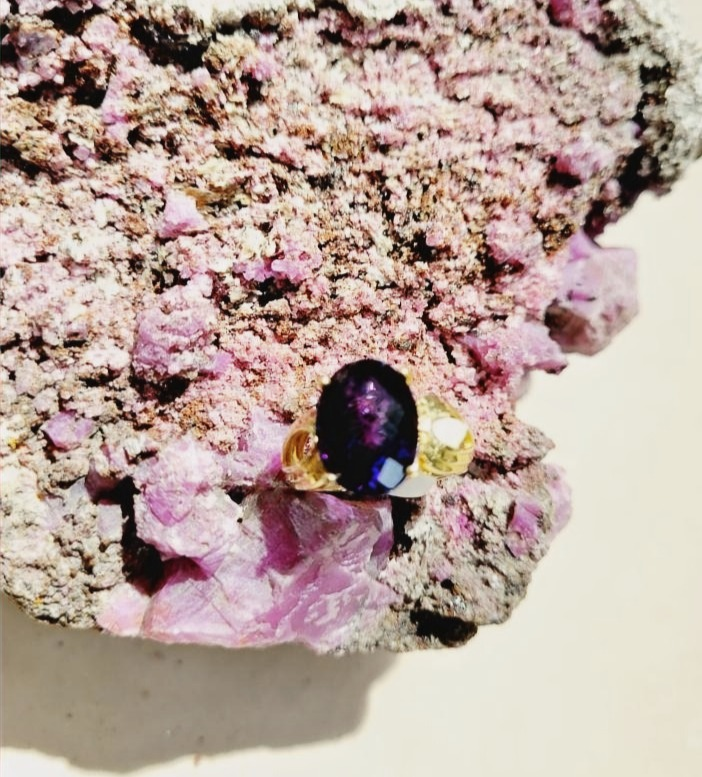 Amethyst ring.,