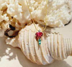 Denny Wong custom pendant.