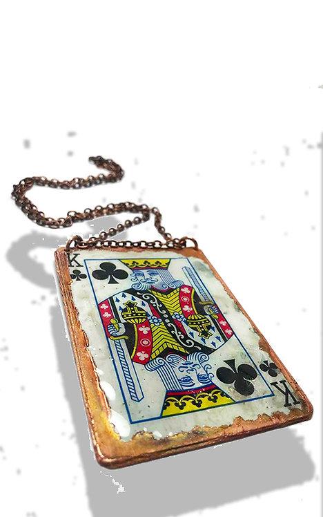 Custom Playing Card Pendant