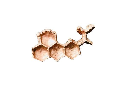 LSD Molecule Hat Pin