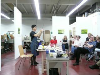 Creating an environment for art