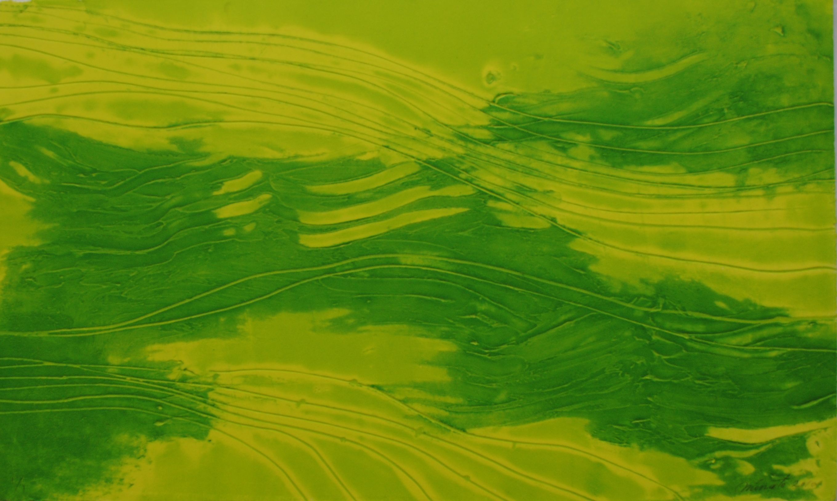 Melted Green