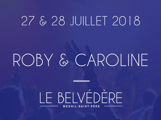Soirées musicales - Roby & Caroline