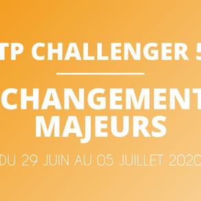 ATP Challenger 50 - LES 7 NOUVEAUTÉS