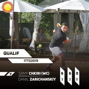 Samy Chkiri, au 2ème tour !