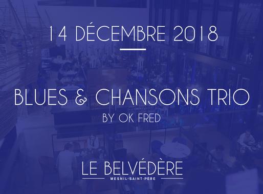 Dîner en musique - Ok Fred Trio - Jazz Blues & Chansons