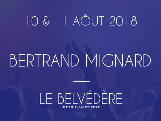 Soirées musicales - Bertrand Mignard (Variétés)