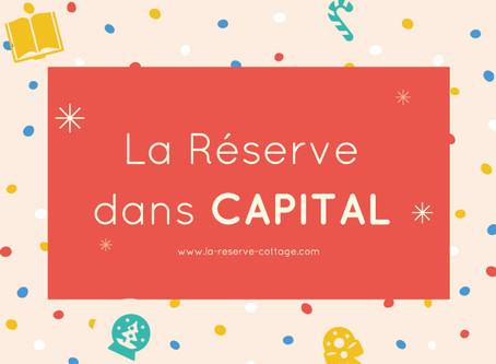 🍾 Les Cottages de la Réserve dans CAPITAL