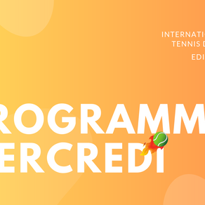 🎾 Programmation du Mercredi 24 Juillet 2019