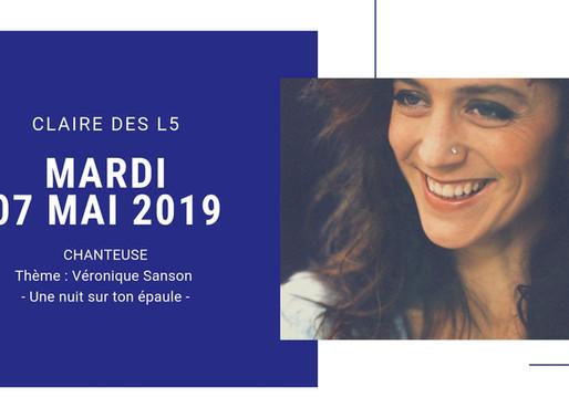 Claire des L5 - Mardi 07 Mai 2019
