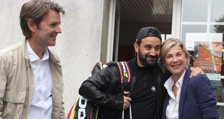 François Baroin, Cyril Hanouna & Michel Laroque