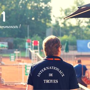 Les Internationaux de Tennis de Troyes arrivent ...