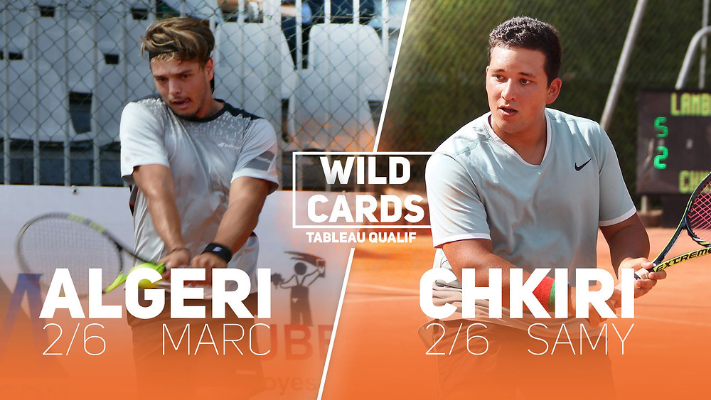 WILD CARD - QUALIF - ITT 2018