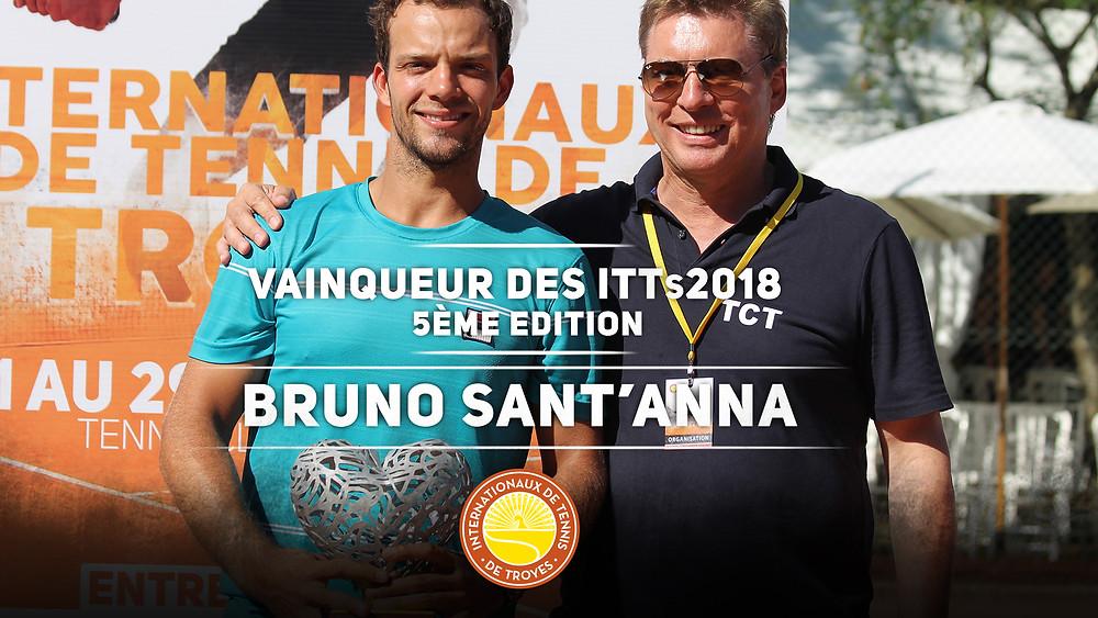 Bruno Sant'anna - Internationaux de Tennis de Troyes