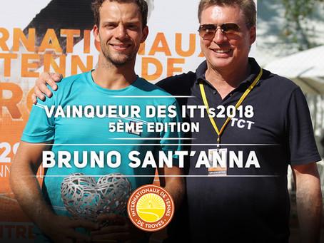 Vainqueur des Internationaux de Tennis de Troyes - ITTs 2018