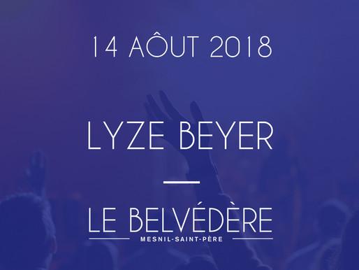 Soirées musicales [14 AOÛT] - LYZE BEYER (Variété)