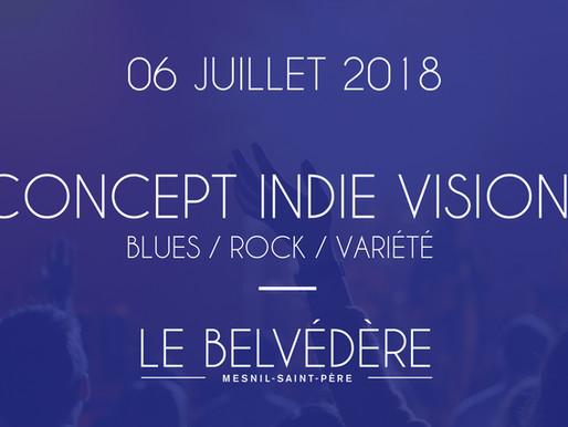 Soirées musicales - Concept Indie Vision (Blues/Rock/Variété)