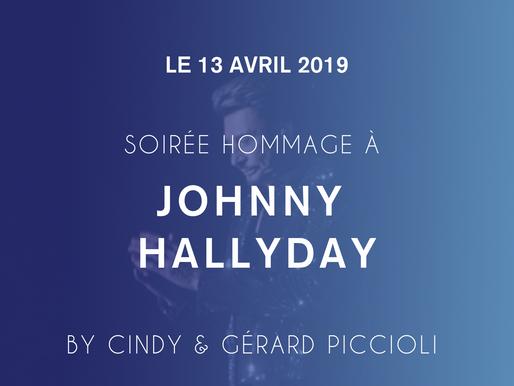 Soirée Hommage à JOHNNY - Gérard & Cindy Piccioli