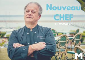 Xavier Lanier - Chef de cuisine au Marinka