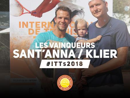 👏 Les deux vainqueurs du tournoi de double #ITTs2018 🏆