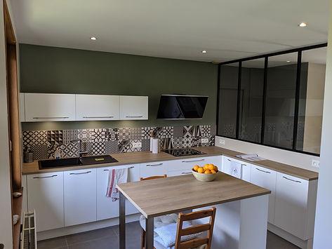 Rénovation cuisine Fleurieux